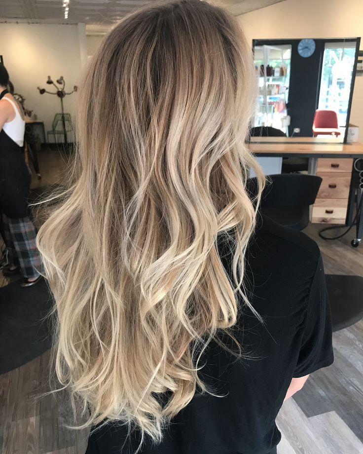 Pin Von Larisa Cirpaci Auf Frisuren Blond Balayage Balayage Balayage Haare Blond