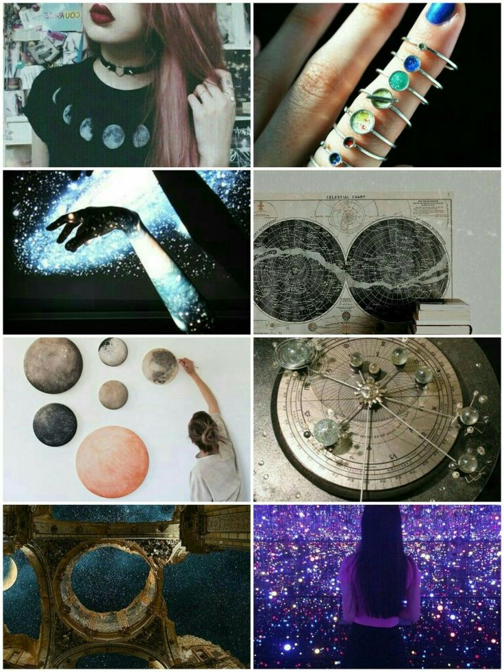Astronomy collage