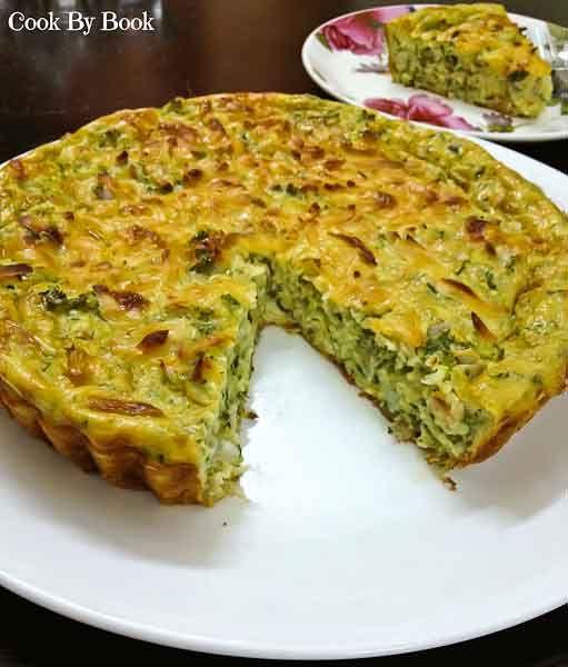 Crustless Zucchini Pie / Cook by Book (TRIED AND TRUE, yummy!)
