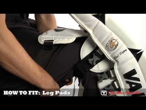 How To Fit Goalie Equipment: Leg Pads
