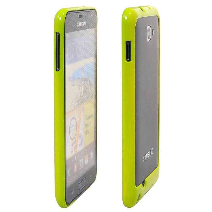 Kova Suojakehys (Vihreä) Samsung Galaxy Note Bumper