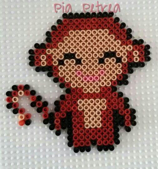 Abe - monkey  Made by Pia Petrea - midi