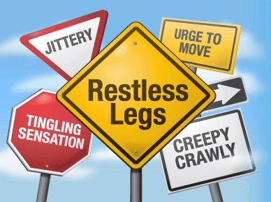 Restless leg syndrome can take many forms.