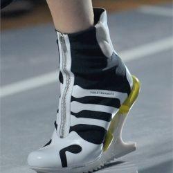 Y-3 SP12: And 3, Fashion Sneakers, Footwear Inspires, 2012 Spring, Custom Footwear, Adidas, Yohji Yamamoto