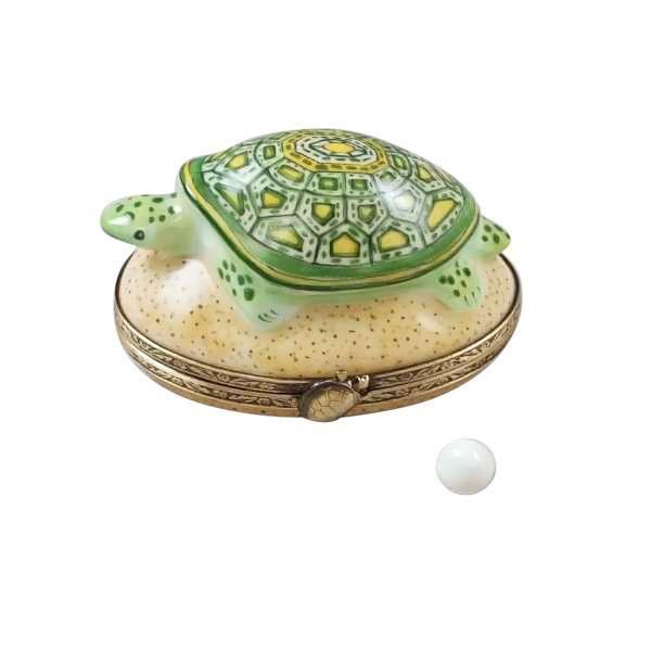 Rochard Turtle Limoges Box RETIRED