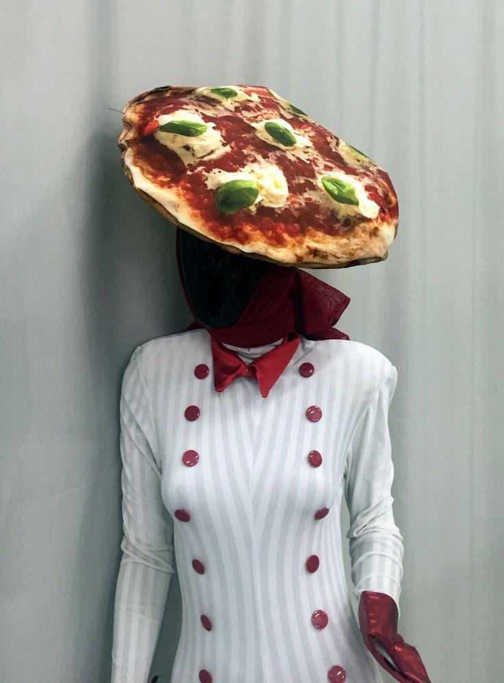 Pizza Costume for #veniceCarnival - by Nu'Art www.nuart.it