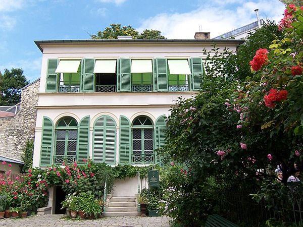 Musée de la vie romantique , Paris IX