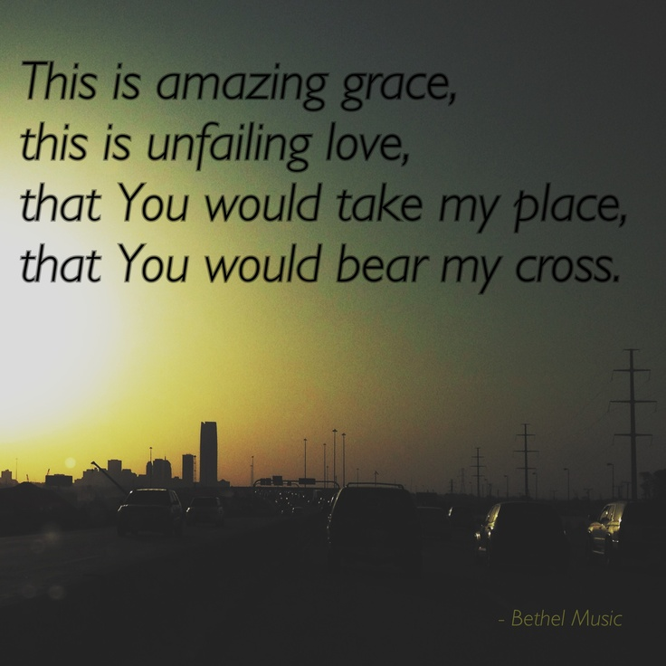 "Bethel Music's ""This Is Amazing Grace"" from the album ""For The Sake of the World"" (photo by @Darren)"