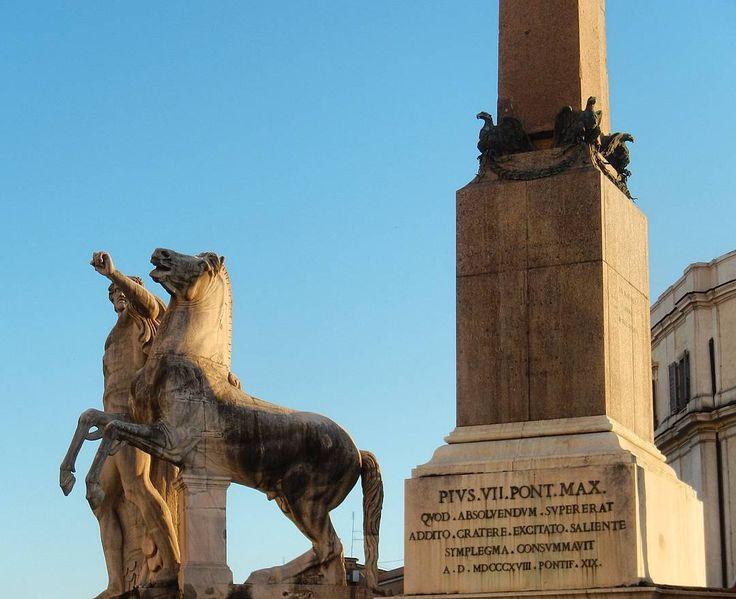 #secrets #rome #obelisk #quirinal #castor #pollux #dioscuri #palace #quirinale #italy #president #rome #hills #mausoleum #augustus #art #archeology #tour #guide
