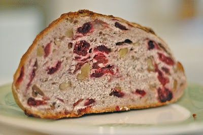 Whole Foods Cranberry Walnut Bread. Boom! Instant breakfast.