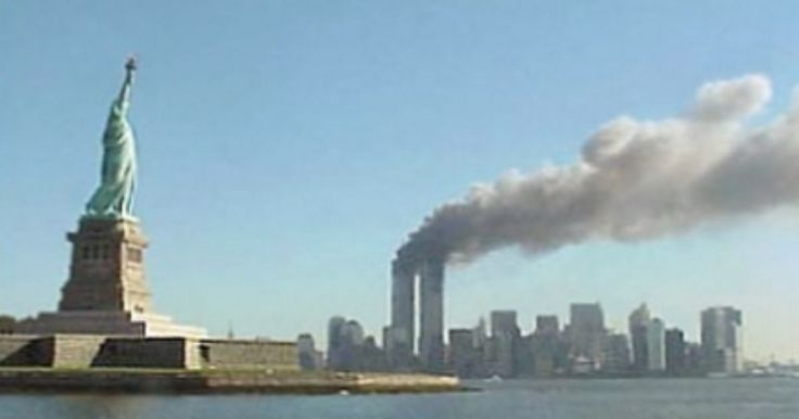 This isn't stock imagery, it's from my personal journal of 9/11. Today I looked at it and it made me...angry.
