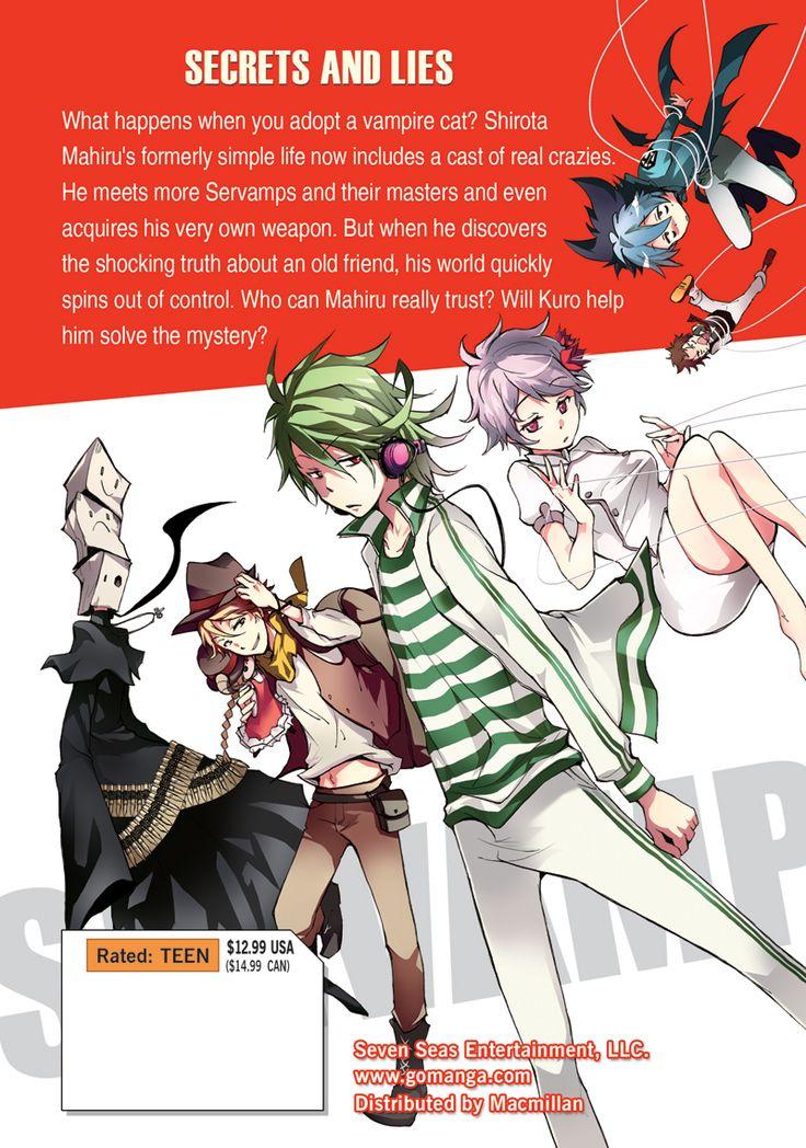 Servamp Manga Volume 2
