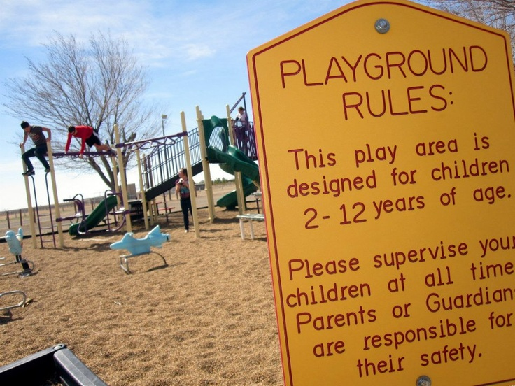 Playgrounds are only uninteresting to those who have forsaken their inner child.