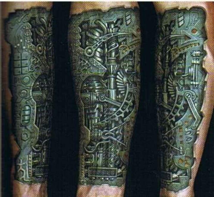 interlocking triangles tattoo