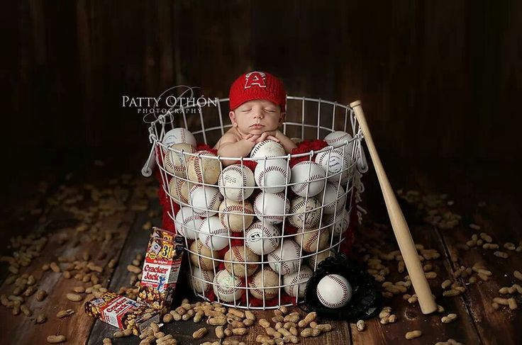 Baseball. Adorable!
