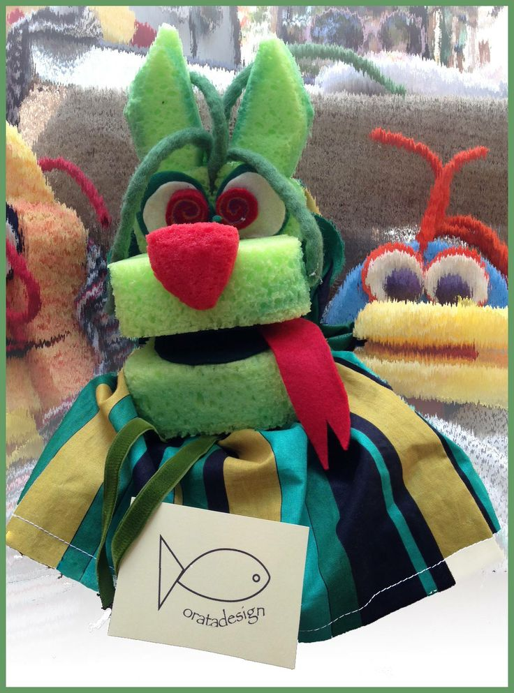 The Dragon #puppet #burattino #pupazzo