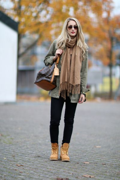 how to wear timberland heels 34
