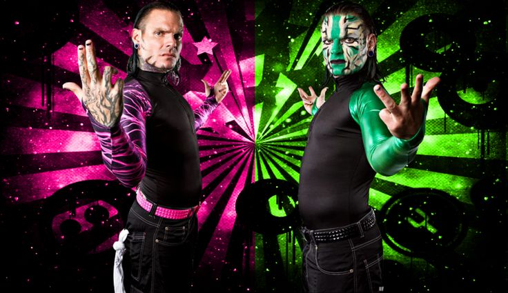 Image result for wwe jeff hardy in black and pink