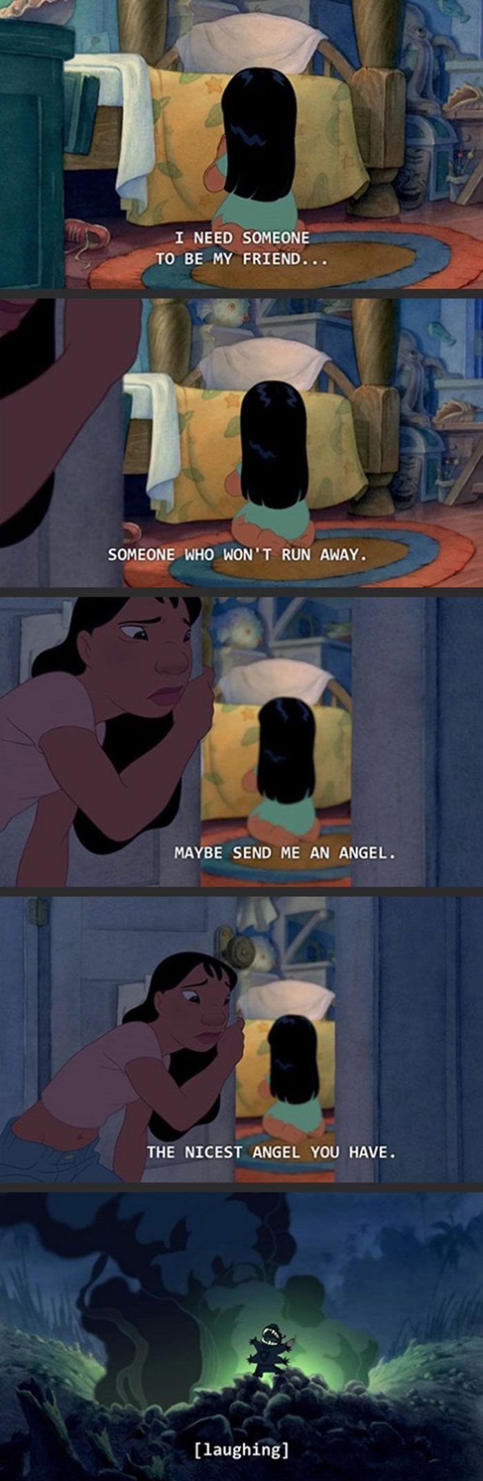 I think I need to watch Lilo and Stitch again...
