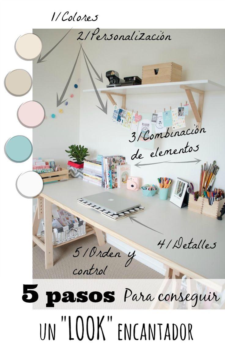 Un despacho nórdico encantador (Claves para conseguirlo) Blog T&D