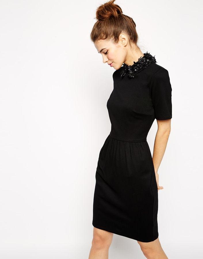 Преобразить черное платье