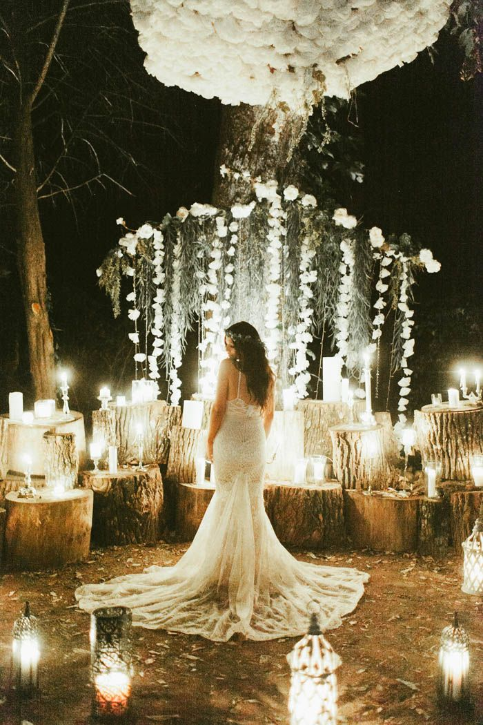 Spectacular rustic wedding inspiration | Image by Stephanie Sorenson Photography