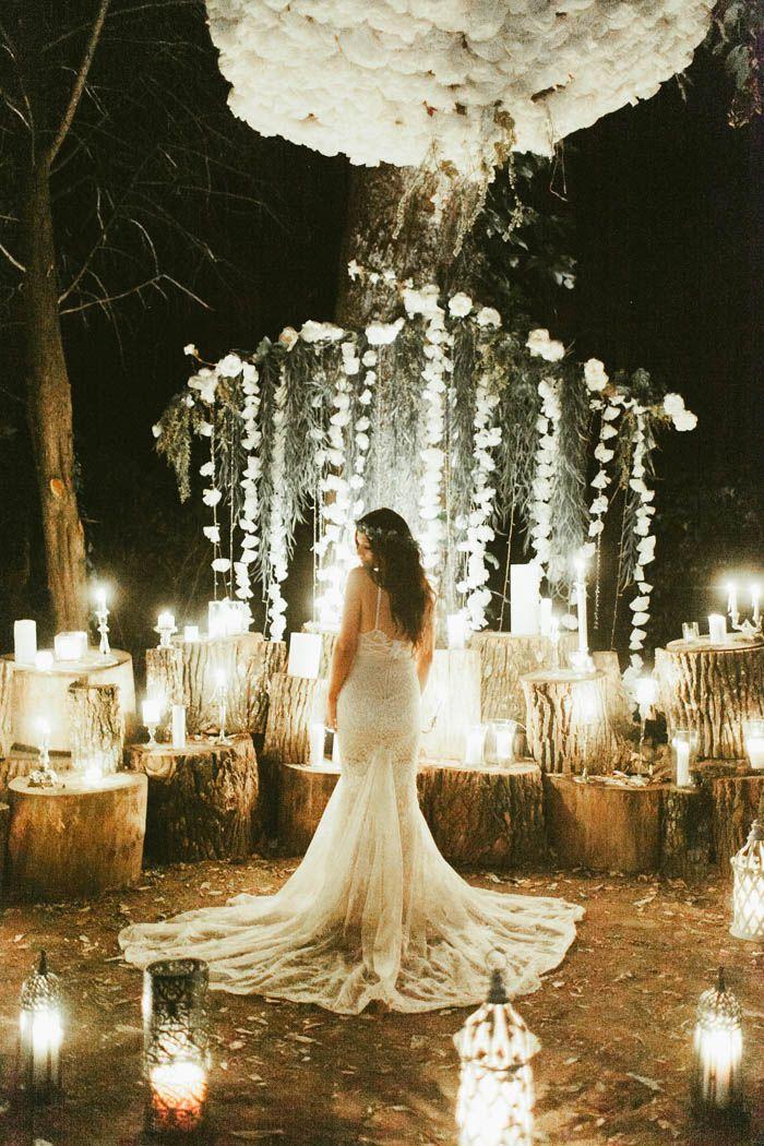 Spectacular rustic wedding inspiration | Image by Stephanie Sorenson Photography
