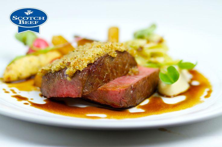 Michelin Star Chef Geoffrey Smeddle creates a Scotch Beef with bone marr...