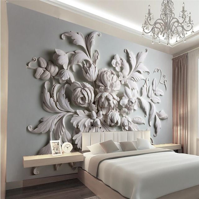 3d photo wallpaper stereoscopic relief european backdrop entrance porch bird leaf 3d large wall mural wallpaper