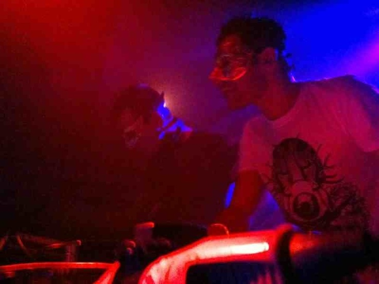 MoodTrap DJing at FabricLondon wearing 'SHARPHUNTER' by Galleria-T.