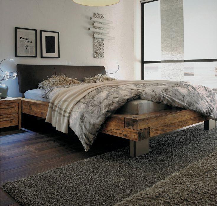 Bed Is Matched To Optional Cervo Bedside Table Snake Lights And Claudio Valet Stand Headboar Bedroom Decor Design Industrial Style Bedroom Bedroom Bed Design