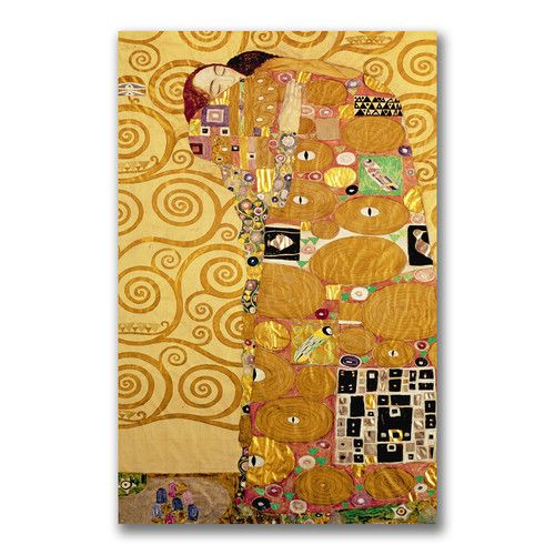 """Found it at Wayfair.ca - """"Fulfilment"""" by Gustav Klimt Painting Print on Wrapped Canvas"""