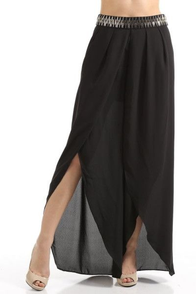 Pewter and Gold Applique Pants..100% Polyester A must have.