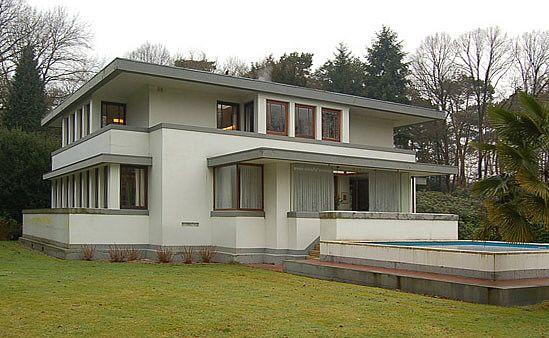 Robert van 't Hoff. Villa A.B. Henny, Huis ter Heide. 1914