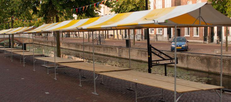 Braderieën | Addy Duifhuizen Marktkramen verhuur