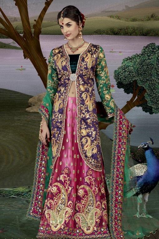 Bridal Gharara Lehnga Style