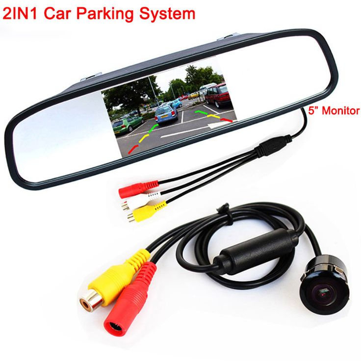 5 2 1080P Full HD Blue Tint Front Back Up Camera Recorder Gr35 Rearview Mirror