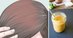 Como eliminar os cabelos brancos naturalmente sem usar tintura | Cura pela Natureza