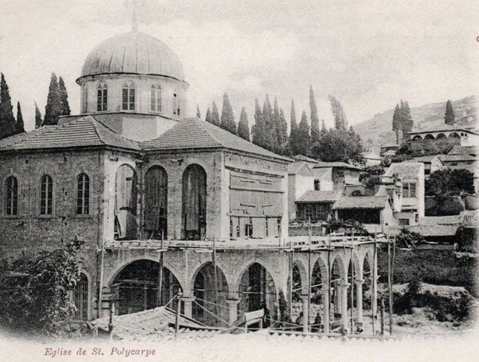 The Ayavukla Church of Basmane, Izmir