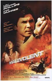 Malevolent Movie Poster 27x40 Used Kari Wuhrer, Gwen McGee, Edoardo Ballerini, Lou Diamond Phillips