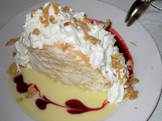 The Olde English Parlour in Stratford Ontario Canada has my favorite dessert in the world. Pavolova, and the do it best!!!