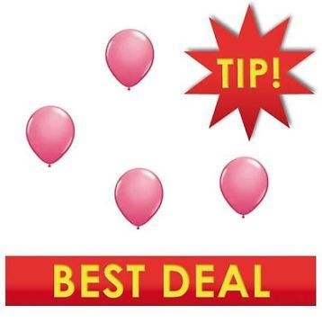 ≥ Roze ballonnen va 1,95 - Ballonnen roze -  levering 24 uur - Feestartikelen - Marktplaats.nl