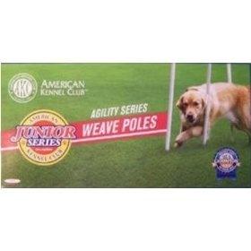 American Kennel Junior Series Dog Agility Weave PolesAmerican Kennels, Dogs Agility, Agility Weaving, Weaving Pole, Series Dogs, Junior Series, Dog Agility, Pole Misc, Kennels Junior