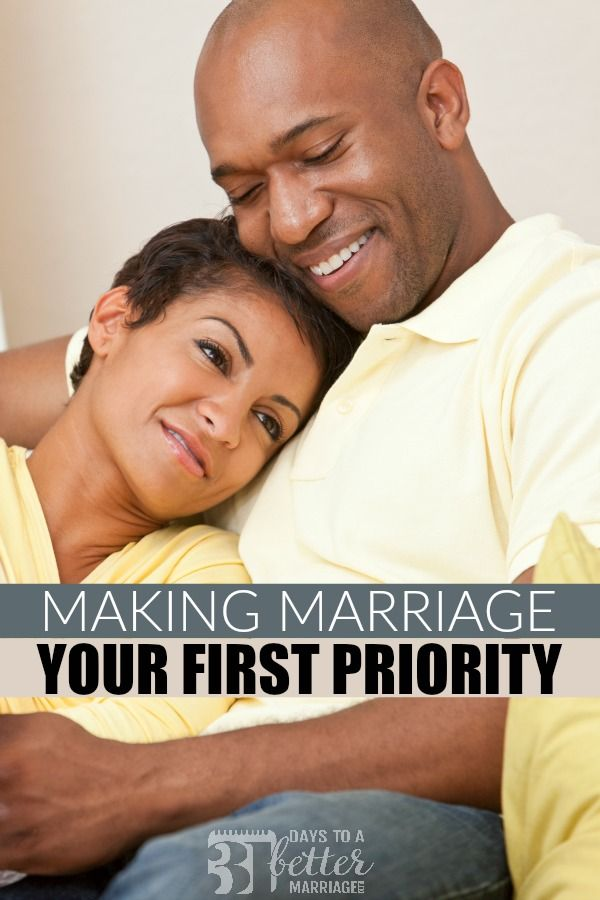 Making Marriage Your First Priority-31 Days to a Better Marriage