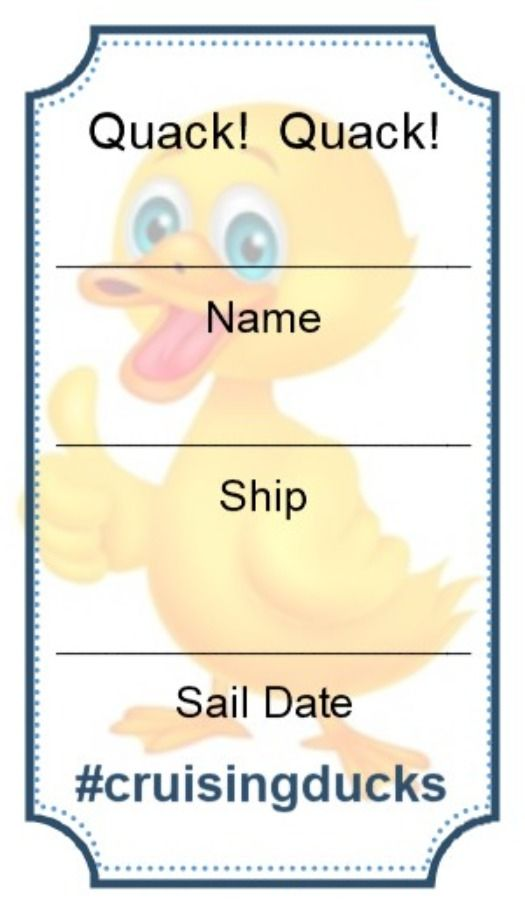 here is my cruising duck tag that i made for use with