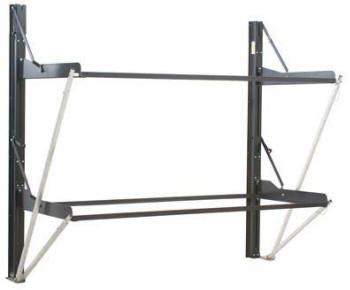 Dual Twin Individual Folding Bunk System