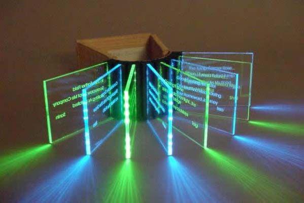 Plexiglass Art Perspex Sub Box Looks Like They Stream