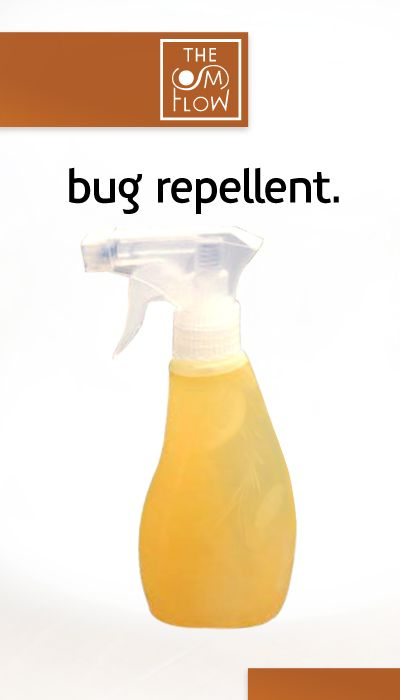 ward off those mosquitos and gnats during the warm season.  1/4 cup lemon juice 15 drops of lavender oil 3-4 tbsp of vanilla extract  Shake in a 16 oz bottle with water and spray away to keep those nasty critters off your skin, naturally!  Natural Bug Repellent | The Om Flow