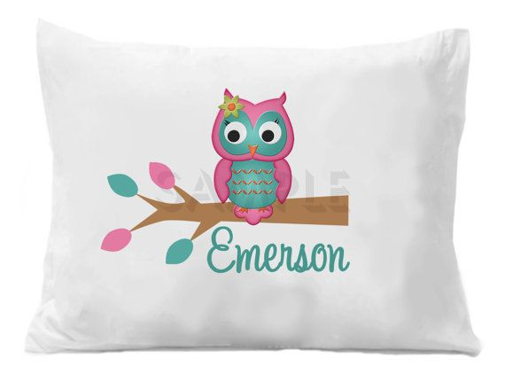 This cute custom pillowcase would look adorable in any nursery. I might get one for my baby niece.
