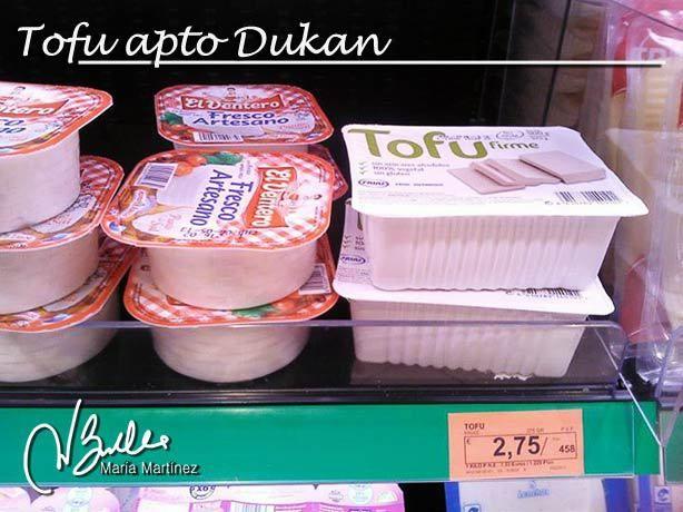 Tofu apto Dukan en Mercadona